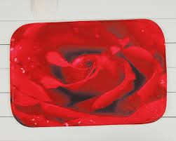 Red Bath Rug Compare Prices On Rose Bathroom Rugs Online Shopping Buy Low