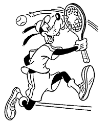 kids playing tennis coloring pages sport coloring pages of