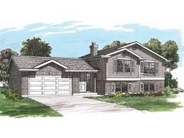 bi level home plans home plan homepw23646 1449 square 3 bedroom 2 bathroom