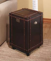steamer trunk side table trunk side table bonners furniture