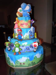 15 super mario brothers theme diaper cake images