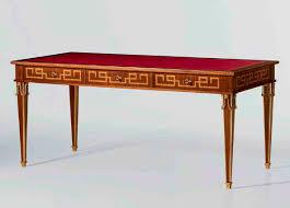 bureau style directoire bureau en cuir de style directoire mg 1206 oak design
