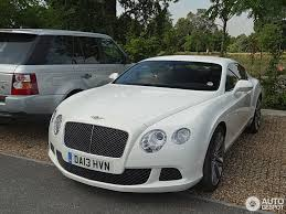 white bentley bentley continental gt speed 2012 5 september 2013 autogespot