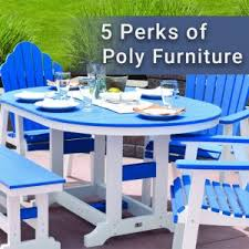 Poly Picnic Tables by Amish Yard Our Amish Crafted Poly Furniture And Outdoor Structures