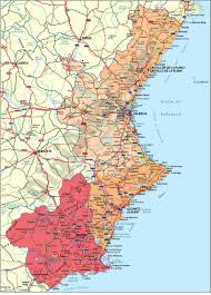 Almeria Spain Map by Vectorized Maps Digital Maps Increase Search Engine Traffic