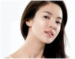 korean artist hairstyles song hye gyo long hairstyles brown hair