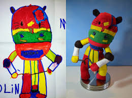 creative mom turns kids drawings into plush toys twistedsifter