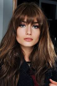 hairstyles with fringe bangs the 15 best long haircuts for every type of texture fringe bangs