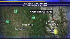 Sequoia National Park Map Sequoia National Park News Abc30 Com