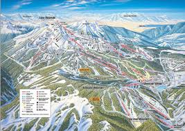Whistler Trail Map Big Sky Resort Mt Skiing Pinterest Big Sky Trail Maps And