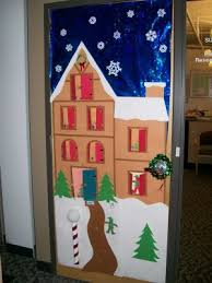 Christmas Office Window Decorations by Puertas1 Arts U0026crafts Pinterest Door Decorating Natal And