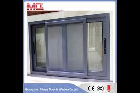 2017 latest design modern windows aluminum sliding glass window