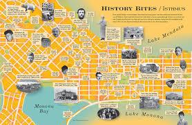 Madison Wi Map History Bites Isthmus Madison Wisconsin