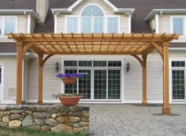 Pre Made Pergola by Pergolas Pavilions And Other Outdoor Structures At Baldwin