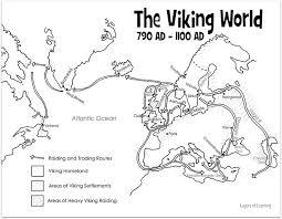 free printable map of the viking world sonlight core c