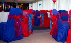 Blue Chair Covers Chair Covers And Bows Times To Remember