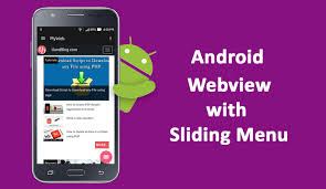 tutorial android pdf android webview with sliding menu tutorial hello friendz