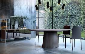 sullivan round dining table furniture stylish round sullivan dining table by modloft