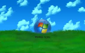 wallpaper windows keren microsoft windows 7 grass wallpapers and images wallpapers
