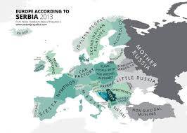 Serbia World Map by Europe According To Serbia Europe
