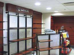 wall display wall display frosted acrylic parts center fixtures