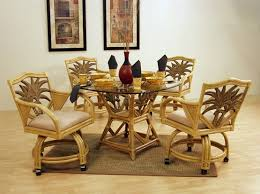 A Variety Design Of Dining Room Chairs With Casters Home Interiors - Dining room chairs with rollers