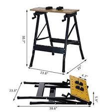 Portable Work Bench Homcom 25