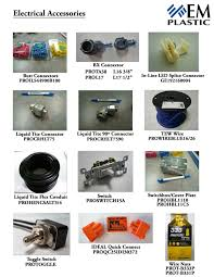 Electrical Accessories Lighting Em Plastic U0026 Electric Products Ltd