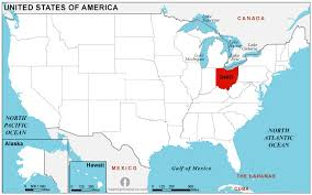 america map ohio free ohio maps maps of ohio united states of america state of