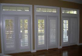 Plantation Shutters On Sliding Patio Doors Faux Wood Plantation Shutters For Sliding Glass Doors Lowes Patio
