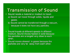 Can Sound Travel Through A Vacuum images Sound and hearing jpg