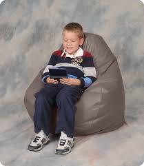kids youth vinyl bean bag chair fraser valley bean bags