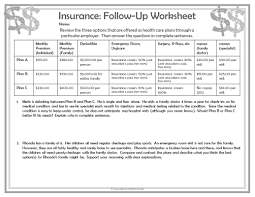 Financial Planning Worksheet Teaching Personal Finance To Teens