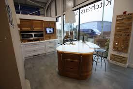 ex display kitchen islands stoneham strata ex display kitchen island corian worktops