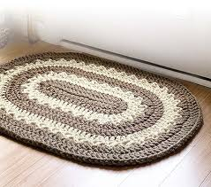 Easy Crochet Oval Rug Pattern Retro Rugs Provides Popular Rug Patterns To Crochet For The Home