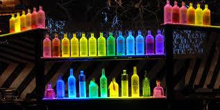 led lighted bar shelves 36 liquor shelf ideas 24 inch 3 tier liquor bottle shelf