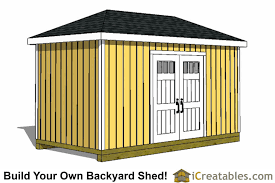 8x16 storage shed plans easy to build designs how to build a shed
