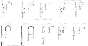 Ikea Kitchen Faucets Gripping Kitchen Faucet Cad Blocks Tags Kitchen Cad Blocks Black