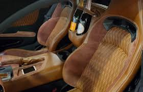 Brown Car Interior The Most Expensive Car Interiors In The World