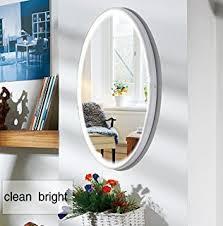 amazon com led bathroom round mirror 22 inch diameter lighted