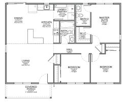 2 bedroom cabin cottage house plans floorplan townhouse floor plan