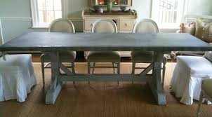dining table zinc dining room table pythonet home furniture