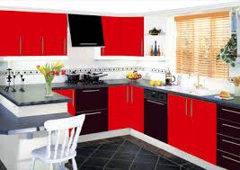 Black Kitchen Designs Photos Black And Red Kitchen Design Home Design Ideas