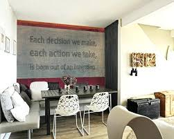 wall decor ideas for dining room dining room wall ideas g room kitchen wall decorating