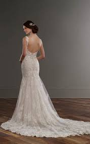 low back wedding dresses low back wedding dress with beaded lace martina liana wedding