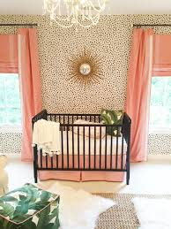 Pink And Brown Curtains For Nursery by Edie U0027s Palm Beach Inspired Nursery Gold Nursery Dalmatian And