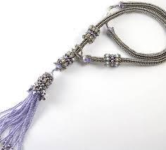 necklace pattern images Siberian tassel necklace beading pattern liisa turunen designs jpg