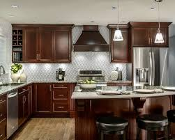 Granite Countertops With Cherry Cabinets Cherry Kitchen Cabinets Cherry Kitchen Cabinets Backsplash Ideas