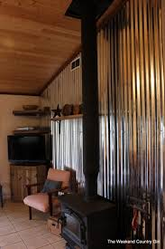 adding a corrugated tin wall the weekend country