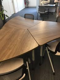 Hon Adjustable Height Desk by Hon Neocon 2017 Tables Neocon 2017 Pinterest